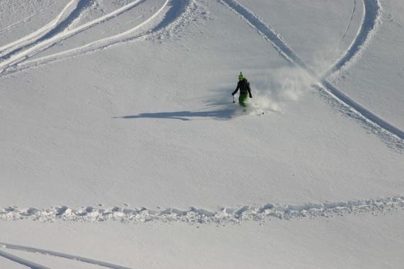 сквозь снежную равнину