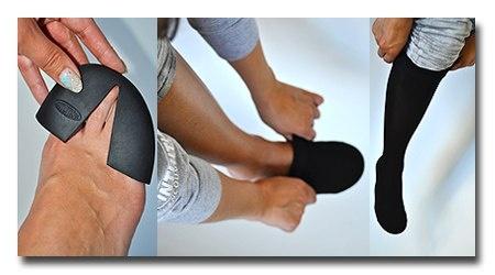 утолщающая накладка на пальцы ног при запекании